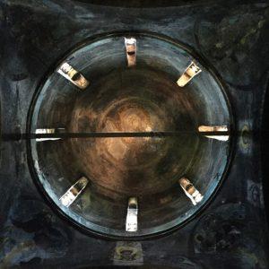 Veljusa-Monastery-Ceiling-Christ