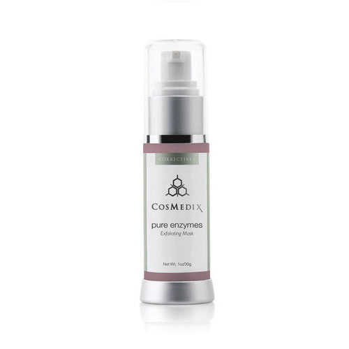 Cosmedix Pure Enzymes helps unclog pores and refine skin for a fresh, dewy glow.