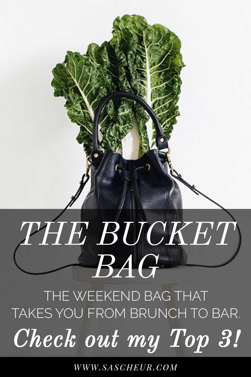 Finding the perfect go-to black leather bag can be surprisingly difficult. I've found 3 of my favourite slouchy bucket bags from luxe to less - check them out!