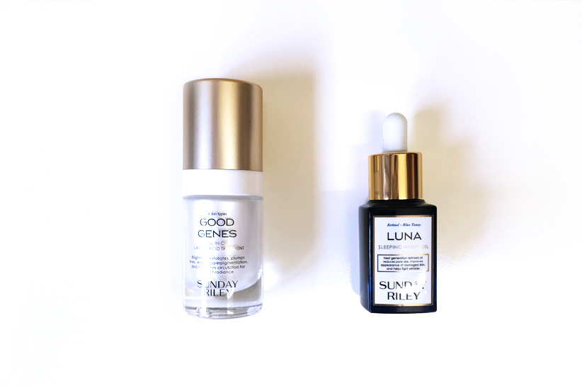 REVIEW:  Sunday Riley Good Genes & Luna Sleeping Oil