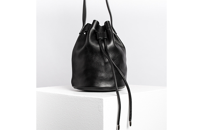 3 GORGEOUS AUSTRALIAN-DESIGNED LEATHER BUCKET BAGS