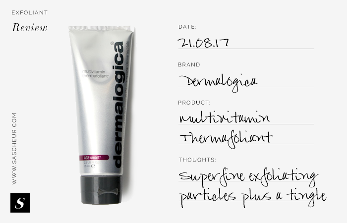Dermalogica Multivitamin Thermafoliant Product Review