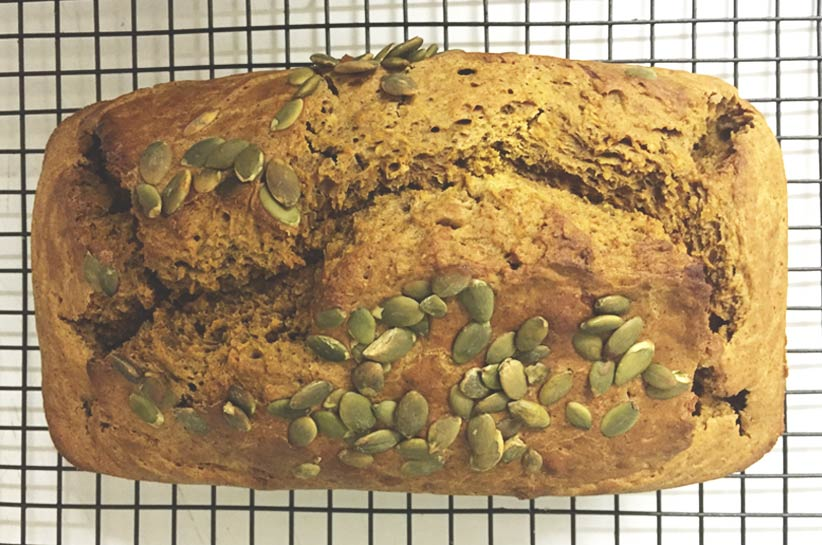Spiced pumpkin bread is the perfect pick-me-up during these cold winter nights. Quick to make and delicious – get the recipe now.