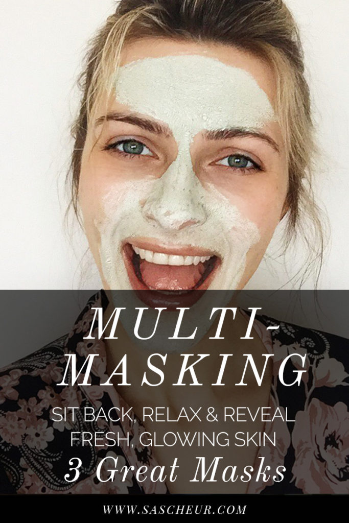 Find out how to multimask with these 3 great face masks. Fresh, glowing skin is just a mask away...
